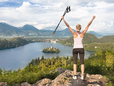 Der optimal Nordic Walking Trainingsumfang